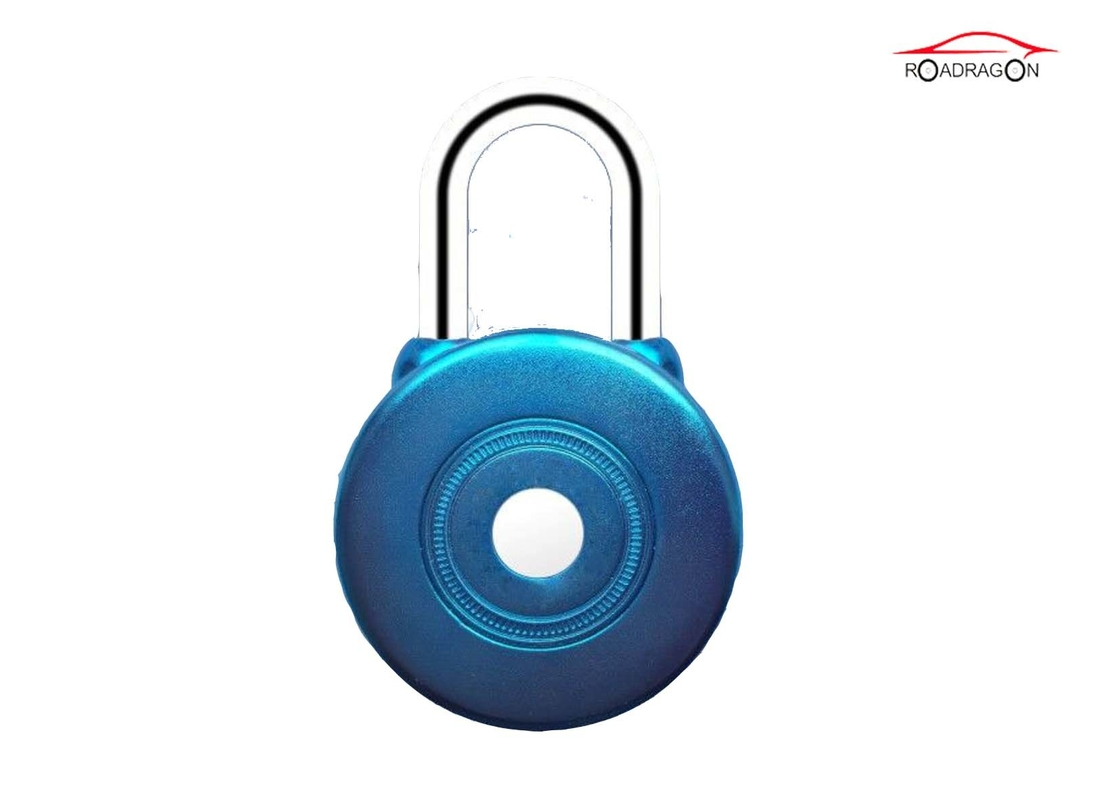 Logistic Transportation Remote Control Padlock Collision Sensor Button Press Open